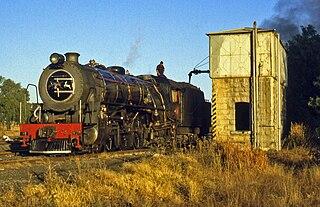 South African Class 16DA 4-6-2 1930 class of 6 South African 4-6-2 locomotives