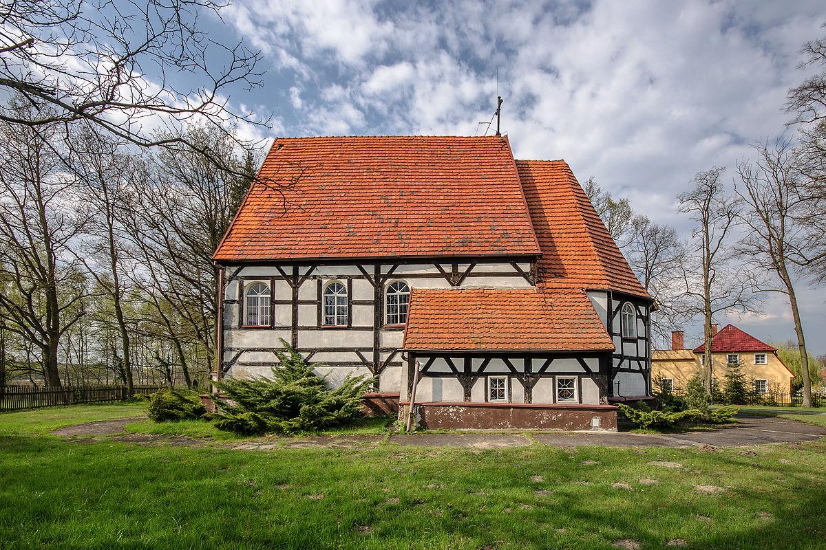 Znalezione obrazy dla zapytania kościoł trzmielów