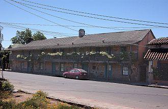 Sonoma State Historic Park - Blue Wing Inn