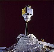 STS-61-B SATCOM Ku-2 deployment