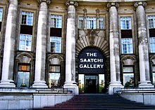 The Saatchi Gallery was based at County Hall 2003–2005