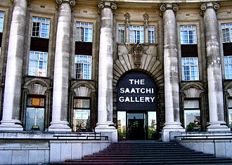 Saatchi Gallery - The Saatchi Gallery was based at County Hall 2003–2005