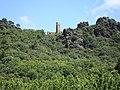 Saint-Gervais-sur-Mare (Hérault, Fr) ruïne de Neyran.JPG