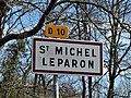 Saint-Michel-l'Écluse-et-Léparon panneau.jpg