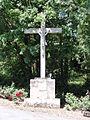 Saint-Romans-lès-Melle (Deux-Sèvres) croix de chemin.JPG