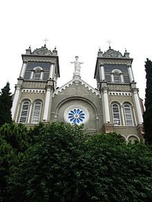 Saint Joseph Cathedral in Wuhu 2012-05.JPG