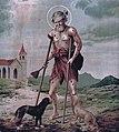 Saint Lazarus. Colour lithograph. Wellcome V0032522FXD.jpg