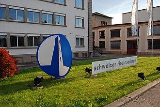 Pratteln - The Schweizer Rheinsalinen in Schweizerhalle, Pratteln