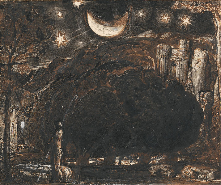 File:Samuel Palmer - A Shepherd and his Flock under the Moon and Stars - Google Art Project.jpg