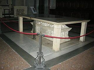 File san lorenzo sagrestia vecchia tomba di giovanni di for Sagrestia vecchia
