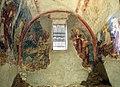 San lorenzo in insula, cripta di epifanio, affreschi di scuola benedettina, 824-842 ca., annunciazione 01.jpg