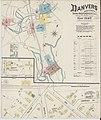 Sanborn Fire Insurance Map from Danvers, Essex County, Massachusetts. LOC sanborn03714 001-1.jpg