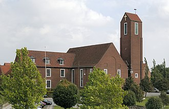 Thomas Havning - St. Mark's Church in Aarhus from 1934