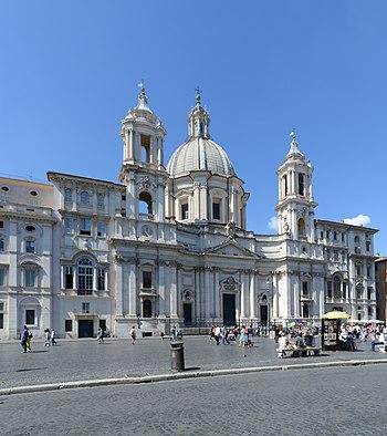 Afbeeldingsresultaat voor piazza navona sant'agnese