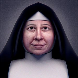 Pauline of the Agonizing Heart of Jesus - Forensic facial reconstruction of Saint Pauline