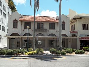 DeMarcay Hotel - Image: Sarasota FL Downtown HD De Marcay Hotel 02