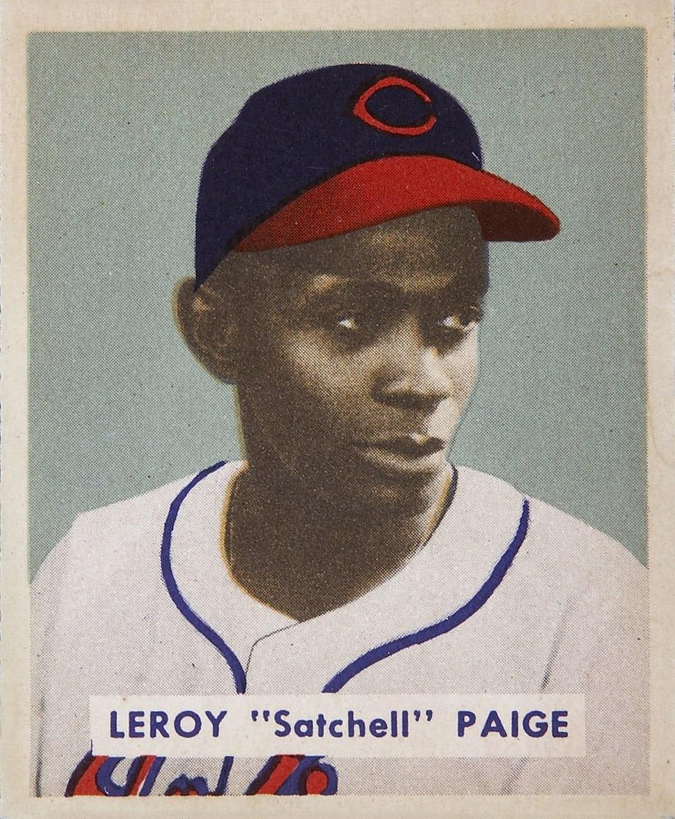 Satchel Paige 1949 Bowman