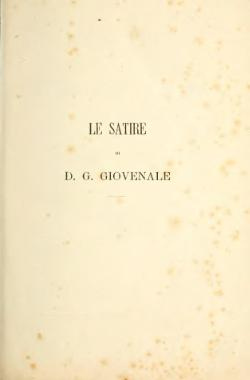 GIOVENALE SATIRE EPUB DOWNLOAD
