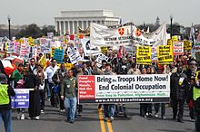 Saturday March 22, 2009 anti-war protest march on the Pentagon.jpg