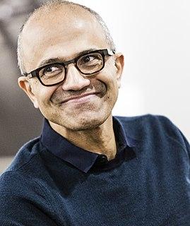 Satya Nadella Indian American business executive and CEO of Microsoft