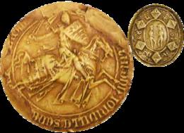 Sceau contre sceau Anseau de Joinville.png