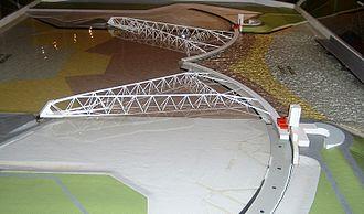 Delta Works - Scale model of the Maeslantkering