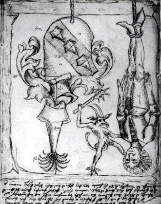 Pittura infamante - Image: Schandbild