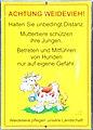 """Schild """"Weidevieh"""" Kärnten.jpg"""