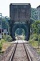 Schleibrücke Lindaunis.Blick vom Bahnübergang Lindaunis.Brückenöffnung.0.ajb.jpg