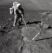 Schmitt Covered with Lunar Dirt - GPN-2000-001124
