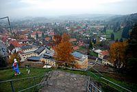 Schwanberg von der Josefikirche, Kapuzinerkloster.jpg