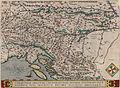 Sclavoniae, Croatiae, Carniae, Istriae, Bosniae, finitimarumque regionum, nova descriptio 1570.jpg