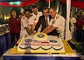 Scott Marciel, center right, the U.S. ambassador to Indonesia; Indonesian Navy Rear Adm. Arif Rudianto, left, the commander of the western fleet; U.S. Navy Rear Adm. Tilghman D. Payne, right, the commander 130522-N-IY633-826.jpg