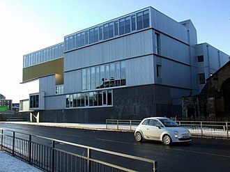 Malcolm Fraser (architect) - Scottish Ballet headquarters at The Tramway, Glasgow, 2009