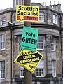 Scottish Socialist, Green, Scottish Liberal Democrats.JPG