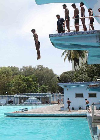 National Cadet Corps (India) - Scuba Diving Camp conducted for NCC Cadets at Mumbai in 2014