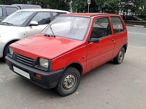 Oka (automobile) - Image: Se AZ 11116 (red colored)