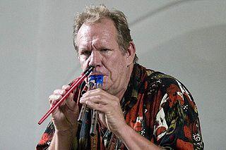Sean Bergin South African-Dutch saxophonist and flautist