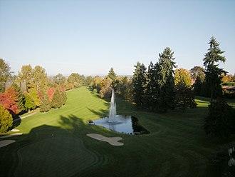 Golf course community - Broadmoore Golf Club in the Broadmoor, Seattle community.