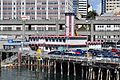 Seattle Fire Station No. 5 from a ferry at Colman Dock (WSF) 01.jpg