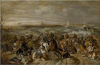Sebastiaen Vrancx - The battle of Leckerbeetje