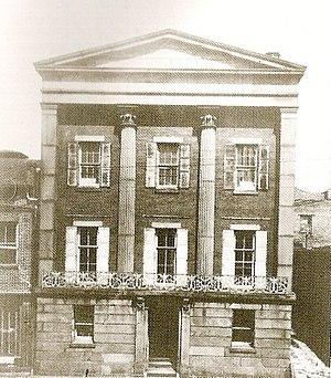 John S. Norris - Wilmington Custom House, 1843, Wilmington, North Carolina. Demolished in 1915