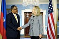 Secretary Clinton Meets With Haitian Prime Minister Gary Conille.jpg