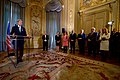 Secretary Kerry Delivers his Thanks After French Foreign Minister Jean-Marc Ayrault Awarded him the Grand Office of the Légion d'honneur (30744671313).jpg