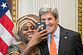 Secretary Kerry Takes a Selfie With an Honoree Committed to Ending Modern Slavery (30457236261).jpg