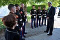 Secretary Kerry Thanks Consul General Casper and Marine Security Guards.jpg