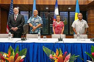 Compact of Free Association International agreement between the United States and the Pacific Island nations of the Federated States of Micronesia, the Marshall Islands, and Palau