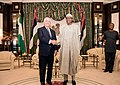 Secretary Tillerson Shakes Hands With Nigerian President Buhari (25901900897).jpg