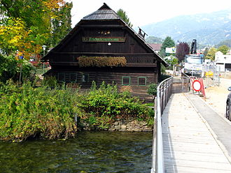 Seeboden - Old fisherman house near Lake Millstatt, today a museum