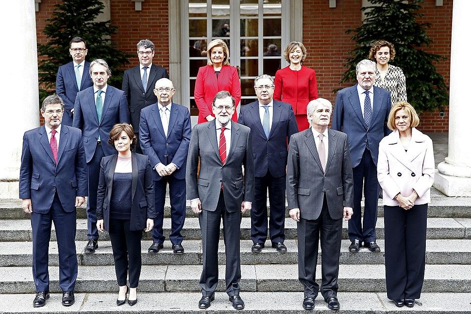 Segundo Gobierno de Mariano Rajoy (2018)